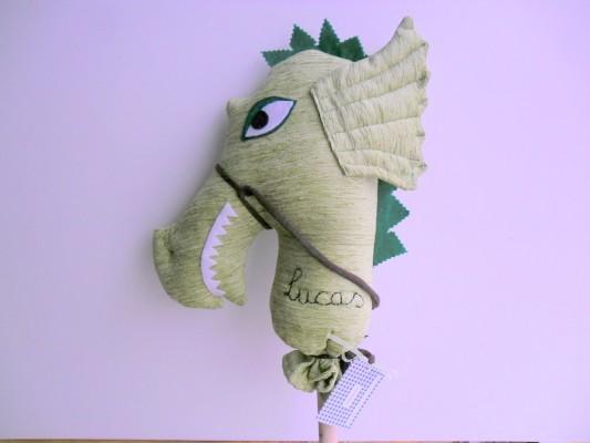 dragón palo